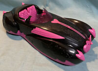 2011 Monster High Doll Car Draculaura Sweet 1600 Roadster Corvette Black & Pink