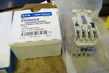 Eaton D15CR22CB Power Relay, Freedom, 15A, 480VAC Coil, 4P, 2NO/2NC Contacts