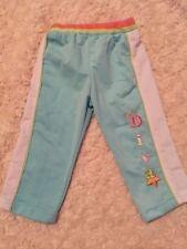 Mon Petit Girls Blue White Pink Athletic Pants Baby Diva Star 6-9 Months