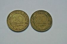 20 CENTIMES LAGRIFFOUL DUO 1962/63