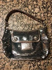 COACH poppy sequin handbag