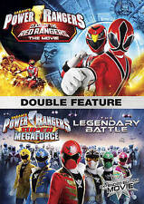 Power Rangers Double Feature: Clash of the Red Rangers/The Legendary Battle (DVD