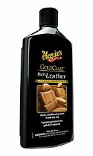 Meguiar's G7214 Gold Class Leather Cleaner and Conditioner 14 Ounces