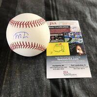 Marco Luciano Signed Baseball Autographed Auto San Francisco Giants + JSA COA