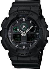 Casio G-Shock *GA100MB-1A Black Resin Anadigi Watch for Men COD PayPal