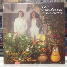 NM LP~CLEMENTE DIAZ~FERNANDO BONILLA~Guitarras Con Amor~{1985 C.D.F.COLUMBIA IMP