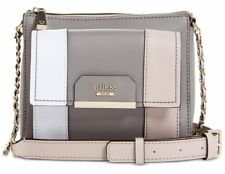 GUESS Ryann Colorblock Mini Crossbody Top Zip, Cloud Multi