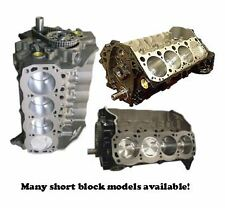 SHORT BLOCK - GM 5.7L Marine Engine, 350 cid, V8 (1980-1985)