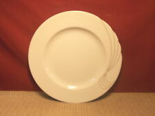 "Seltmann Weiden China West Germany Fontana Pattern Dinner Plate 10"" Gold Accents"