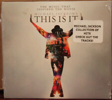 EPIC CD: Michael Jackson - This Is It, Music Inspired the Movie - 2009, SEALED