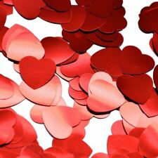 Jumbo Red Heart Table Confetti Wedding Valentine's Anniversary Party Decor