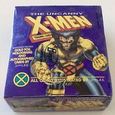 UNCANNY X-MEN TRADING CARD SEALED BOX WOLVERINE IMPEL 1992