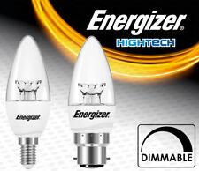Dimmable Energy Saving LED Candle Shape 6w=40w Light Bulb SES E14 BC B22 Fitting