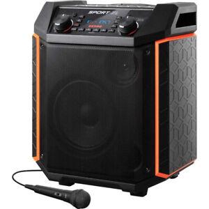 Ion Audio Sport XL 100W Bluetooth Wireless Speaker - 75 Hr Battery w/ Microphone
