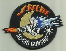 SPECTRE AC-130 GUNSHIP USAF PATCH WAR AIRCRAFT PILOT CREW SOLDIER VIETNAM FLY