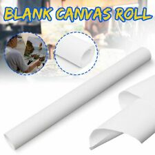 Blank Cotton Canvas Roll White Watercolors Acrylic Oil Painting Tool Supplies