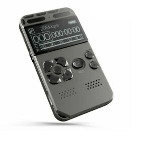 Voice Recorder Mp3 Player Voice Activated Digital Music Player Noise Reduction