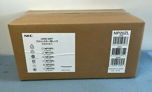 NEC NP20ZL 3.58 to 5.38:1 Long Throw Zoom Lens with Shift & Memory (46C)