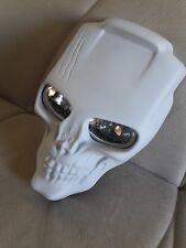 Custom Motorcycle Skull Headlight MASK & Lamp streetfighter   Harley fairing