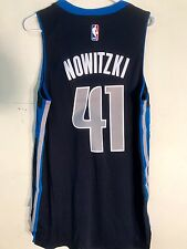 Adidas 2015-16 Swingman NBA Jersey Dallas Mavericks Dirk Nowitzki Navy sz S