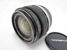 Olympus OM-SYSTEM G.ZUIKO AUTO-W 21mm F/3.5 Lens Made In Japan