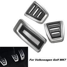 3pc auto frizione freno acceleratore manuale pedana Pedale Pad Cover per VW Golf