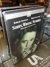 Sorry, Wrong Number (DVD) Barbara Stanwyck, Burt Lancaster, Anatole Litvak, NEW!