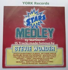"""STARSOUND - Stars On Stevie - Excellent Condition 12"""" Single CBS A13 2401"""