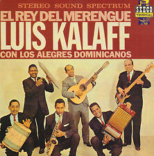 LUIS KALAFF - EL REY DEL MERENGUE (SEECO TROPICAL CD REISSUE 1994)