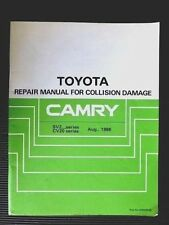 Toyota books and manuals ebay new listingtoyota camry sv20 21 cv20 series 1986 collision damage repair manual fandeluxe Images