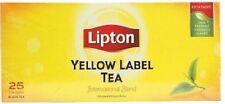 Lipton Yellow Label Tea Pack of 1 box x 25 tea Bags
