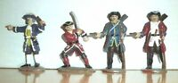 BRITIANS? 4 Pirates Buccaneers 1/32 54MM Toy Soldiers PLASTIC ......B