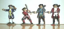 BRITIANS? 4 Pirates Buccaneers 1/32 54MM Toy Soldiers PLASTIC ......B