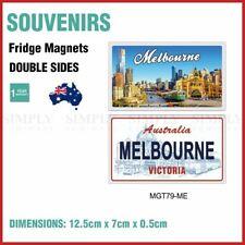 Australian Souvenirs Fridge Magnets Melbourne Double Sides Car Plate Style Gift