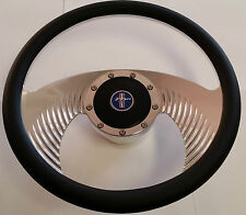 Mustang Steering Wheel Billet Leather 1964 64 Coupe Convertible Fastback 260 347