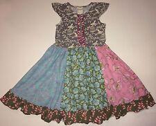 Matilda Jane sz 10 Secret Fields Frosty Blooms Exclusive Bird Cage Dress