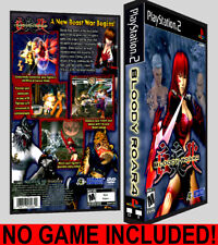 Bloody Roar 4  - PS2 Reproduction Art DVD Case No Game