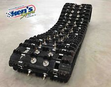 CAMOPLAST RIPSAW Snowmobile Track 15x121x1.25 PRE-STUDDED w/ WOODYS Gold Diggers