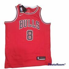zach lavine chicago bulls jersey Nba Red basketball black