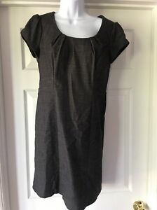 AGB Gray Back Zipper Dress Size 6 - Free Shipping