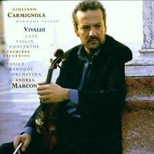 CARMIGNOLA Vivaldi: Late Violin Concertos; (CD 2015 Sony/BMG ) Venice Baroque
