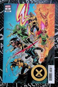 X-Men #4 2021 Marvel Comics 1:25 Shalvey Variant Wolverines Cyclops 10/13/21