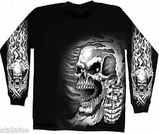 T-Shirt ML ASSASSIN - Taille M - Style BIKER HARLEY