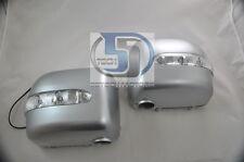 Mercedes G Class W463 G500 G55 WAGON Side Mirror Cover LED Blinker signal Silver