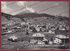TRENTO MOENA 24 VAL DI FASSA Cartolina FOTOGRAFICA viaggiata 1955