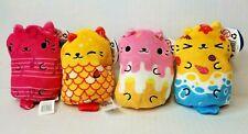 Cats vs Pickles Bean Bag Plush Mew-sical Meow Goldie Fish Sprinkles Sandy Lot 4X