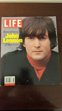 Remembering John Lennon : 25 Years Later by Life Magazine Editors The Beatles