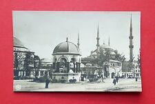 Foto AK CONSTANTINOPLE Konstantinopel um 1908 Fontaine und Moschee   ( 39093