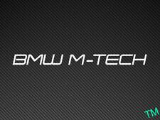 2 x BMW M-TECH (Style 2) Car Stickers Decals M3 M5 E36 E46 E39 M Power