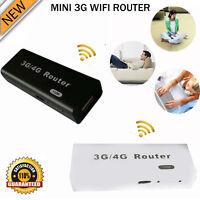 New Mini 3G / 4G WiFi Wlan Hotspot AP Client 150Mbps RJ45 USB Wireless Router UK